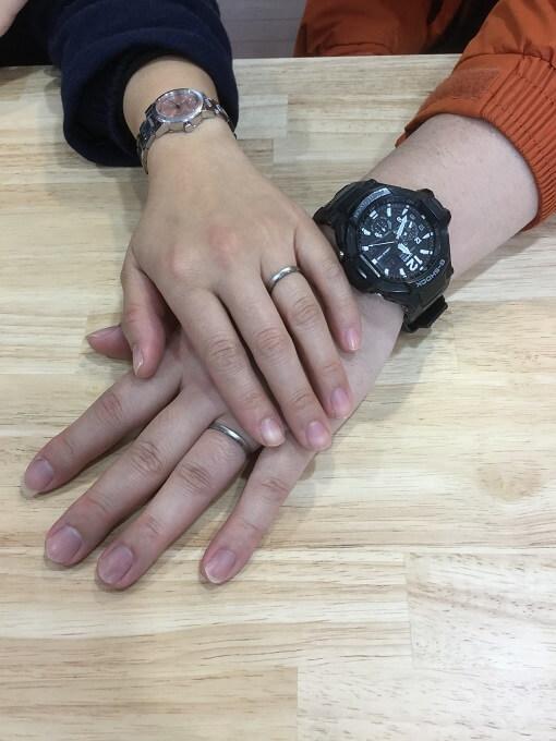 結婚指輪お客様の声