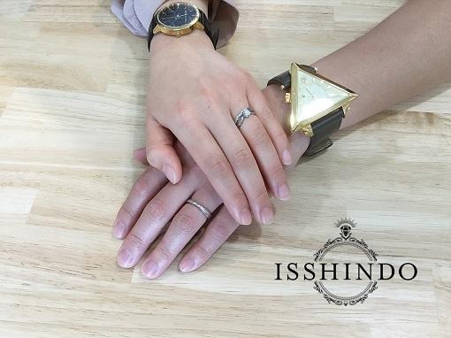 ハワイアンジュエリー婚約指輪