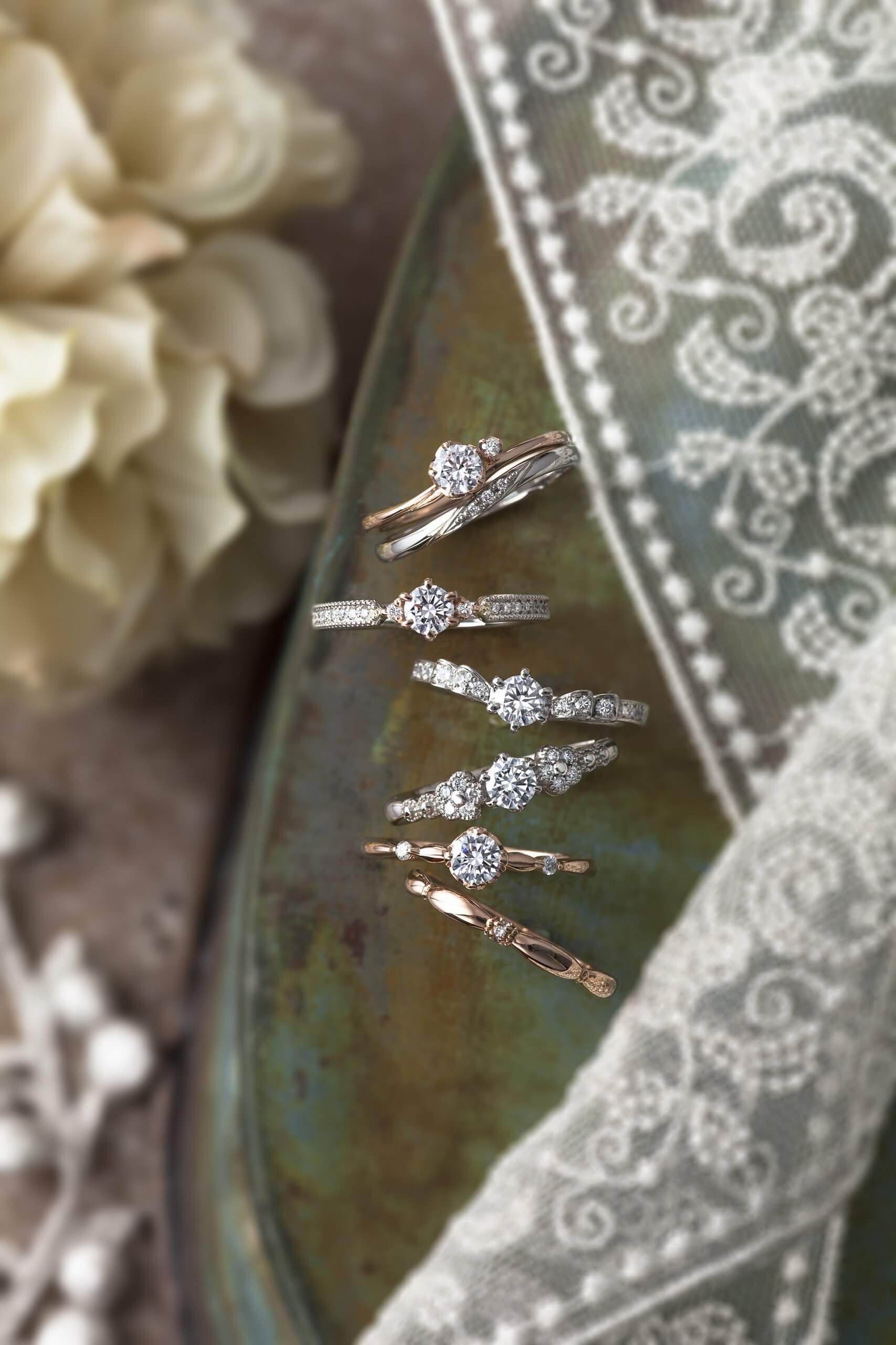 プリマポルタっ婚約指輪