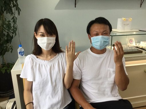 龍ケ崎市結婚指輪