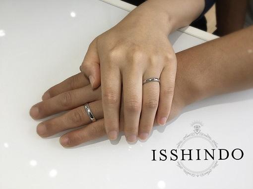 潮来結婚指輪