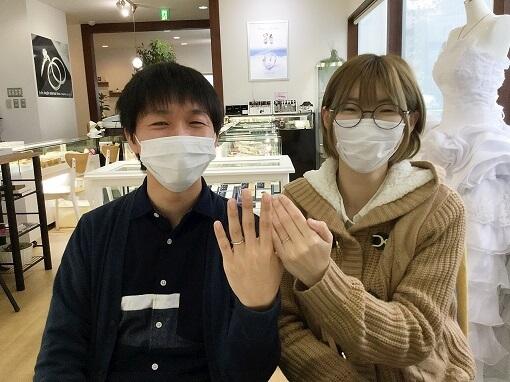 坂東市結婚指輪