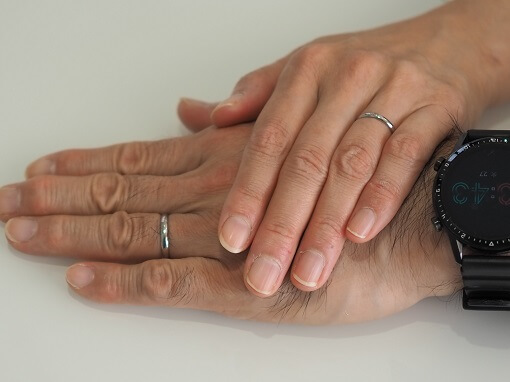 ピトー結婚指輪