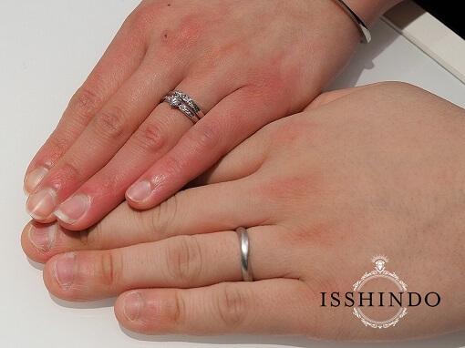 石岡市結婚指輪