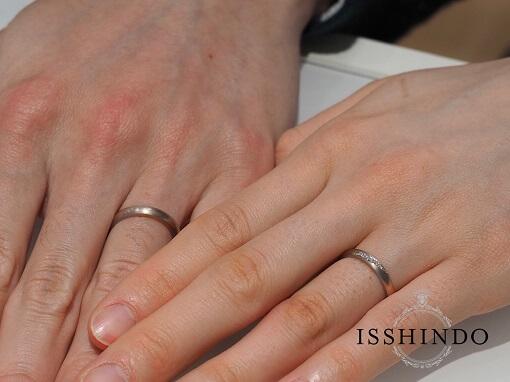 相木目結婚指輪・婚約指輪