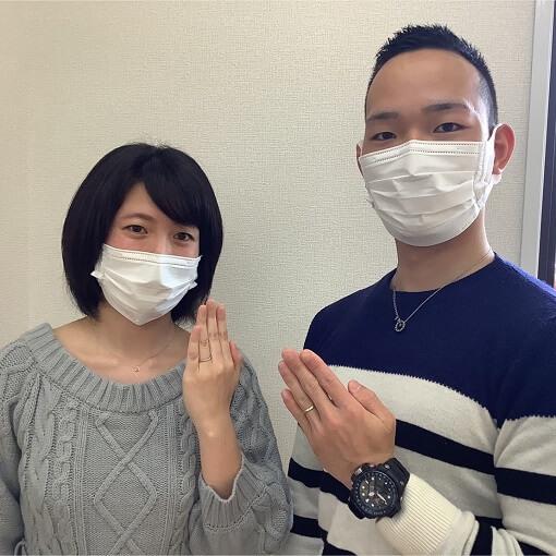 千葉県成田市結婚指輪