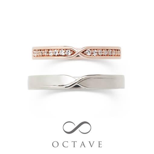 オクターブ結婚指輪